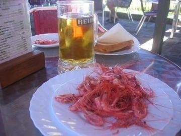 Norte de Tenerife III: Tapita de camarones en Icod de los Vinos