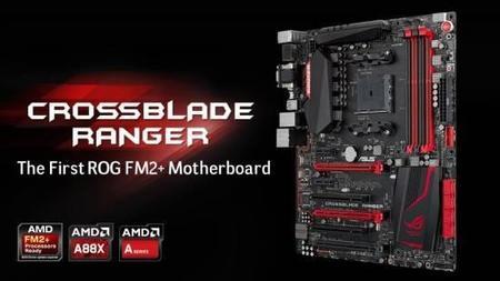 ASUS Crossblade Ranger, el espíritu ROG regresa con AMD Kaveri