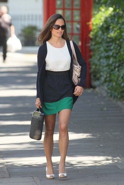 Pippa Middleton nos enseña a ir chic y cómodas al trabajo