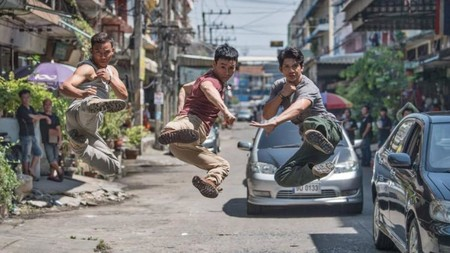 Triple Threat Iko Uwais Tony Jaa