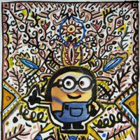 Minions in Art, la versión más solidaria de estos muñecos (locos y) amarillos
