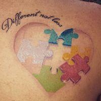15 ideas de tatuajes para padres de niños con autismo