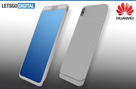 Huawei también estaría preparando un smartphone con cámara deslizable que se esconde, según esta patente
