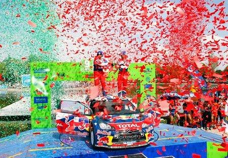 La semana después del rally. Seis coronas a la salud de Sébastien Loeb