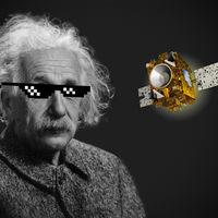 Einstein sigue apuntándose tantos por su Relatividad: un microsatélite le ha dado la razón con más precisión que nunca