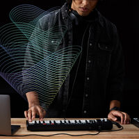 El nuevo teclado musical de Amazon es capaz de crear canciones nuevas a partir de una melodía usando machine learning