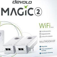 Devolo renueva su gama de adaptadores PLC y WiFi con la nueva linea Magic y velocidades de hasta 2.400 Mbps