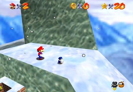 Super Mario 64: cómo conseguir la estrella Lil' Penguin Lost de Cool, Cool Mountain