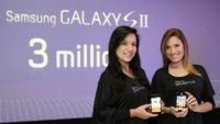 Samsung Galaxy S2 batiendo records: supera los tres millones de unidades vendidas