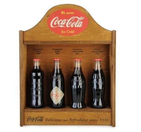La primera botella de Coca-Cola, edición 125 aniversario