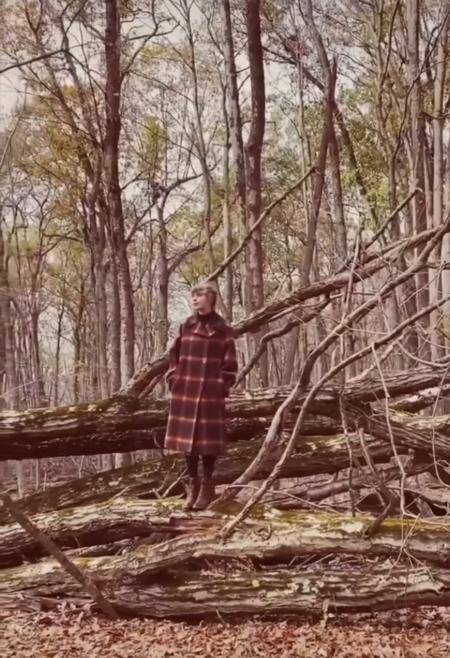 taylor swift evermore abrigo