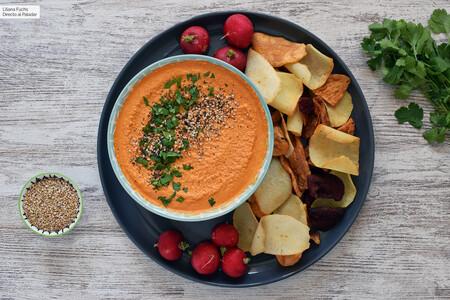 Dip (muy) picante de anacardos y chile chipotle: receta fácil de aperitivo con dos ingredientes