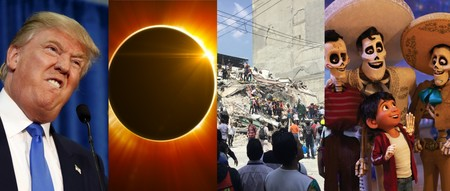 Los terremotos de septiembre, el eclipse solar y 'Coco', entre lo mas buscado en Google México en 2017