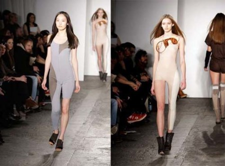 La moda del mañana: una sola pierna