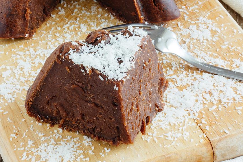 Pastel frío de chocolate y yogur griego: receta fácil