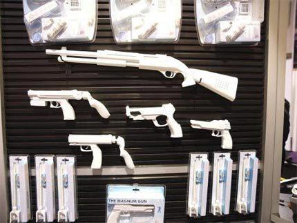 Más pistolas para la Wii