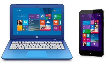 HP Stream, la gama de tablets y portátiles de HP con Windows 8.1 por 100 y 200 dólares