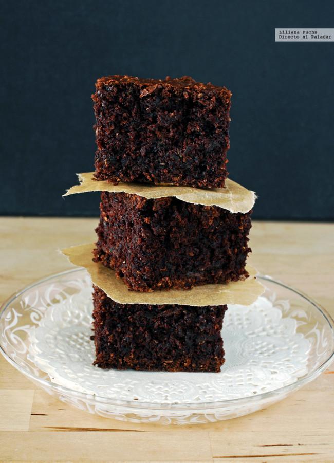 Brownie de Calabacin