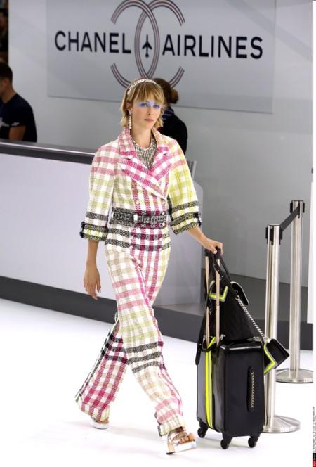 Chanel Aeropuerto Desfile Primavera Verano 2016 5