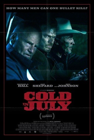 'Cold in July', tráiler y cartel de lo nuevo de Jim Mickle