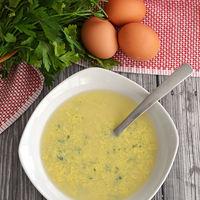 Stracciatella, la sopa de huevo italiana. Receta