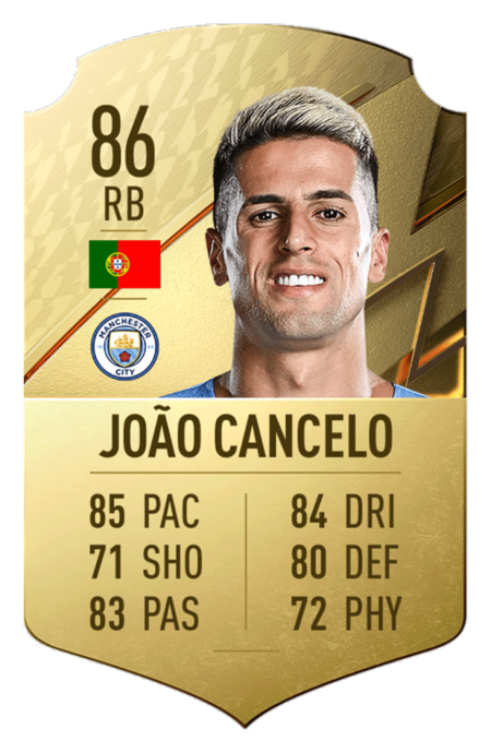 Joao Cancelo FIFA 22 mejores jugadores Premier League