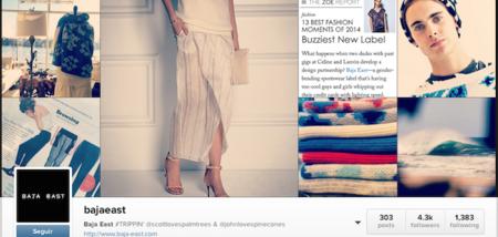 Baja East la marca de moda que tienes que seguir de inmediato en Instagram.
