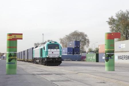 Tren de mercancías entre China y España, ¿es rentable?