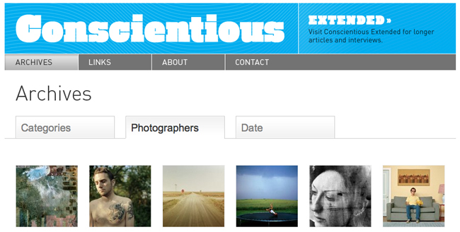 Jörg M. Colberg nos enseña fotografía contemporánea gracias al blog Conscientious