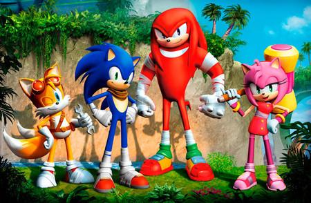 Diez minutos para comprobar el mimo que Sega le da a 'Sonic Boom'