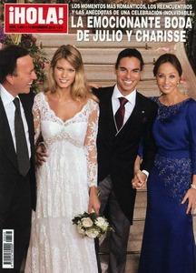 La boda de Julio José Iglesias: dientes, cirugías y ausencias