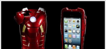 ¿Buscas una funda para tu iPhone 5?¿Te gusta Iron Man? Tal vez esta sea tu funda (o no)