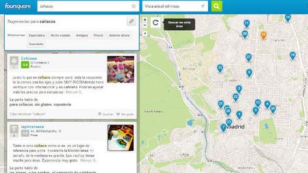 Foursquare ahora también permite buscar restaurantes por platos del menú