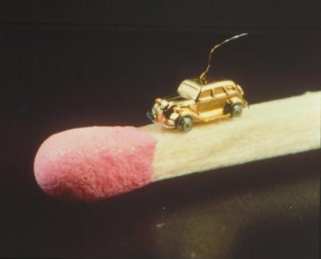 Éste fue el coche más pequeño (con motor) que se ha fabricado