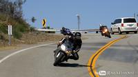 Motos en Mulholland en alta, altísima resolución (4k)