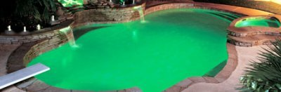 Luces para la piscina