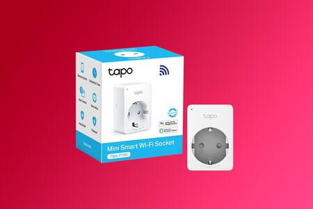 """Automatiza las luces y electrodomésticos con el enchufe """"inteligente"""" TP-Link Tapo P100, ahora en Amazon por 9,99 euros"""