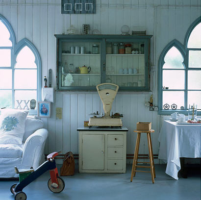 Tendencias decora con piezas antiguas y consigue un toque - Cosas antiguas para decorar ...