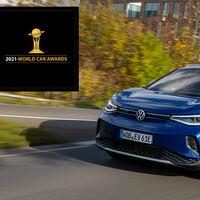 El Volkswagen ID.4 es el Mejor Coche del Año en el Mundo 2021: el SUV eléctrico supera al Toyota Yaris y al Honda e