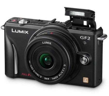 Panasonic Lumix GF2: más pequeña, pantalla táctil y vídeo Full HD