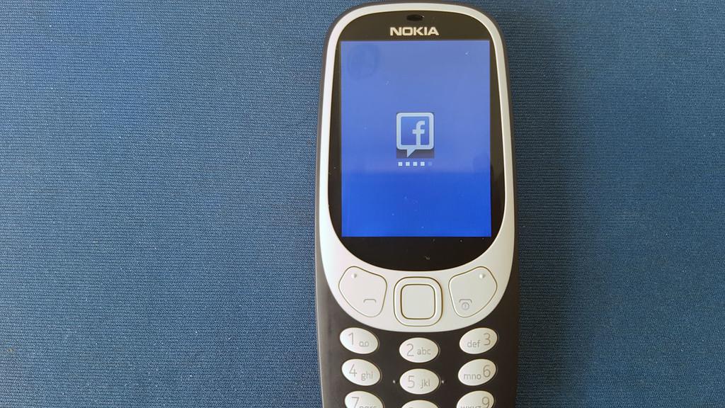 Facebook Nokia 3310