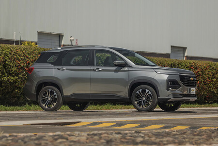 Chevrolet Captiva 2022 Mexico 4