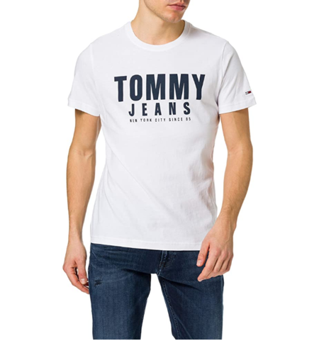 Screenshot 2021 03 25 Tommy Jeans Tjm Center Chest Tommy Graphic Camiseta Para Hombre Amazon Es Ropa Y Accesorios