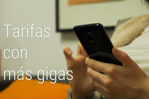 Las tarifas con más datos para navegar desde el móvil: los 50 GB empiezan a proliferar