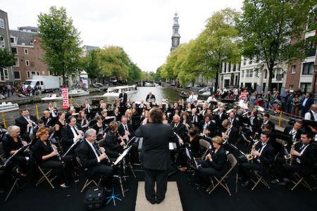 El Festival de los Canales en Ámsterdam
