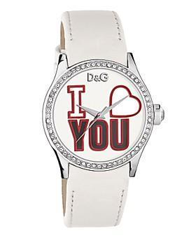 San Valentín: Romántico reloj de Dolce & Gabbana