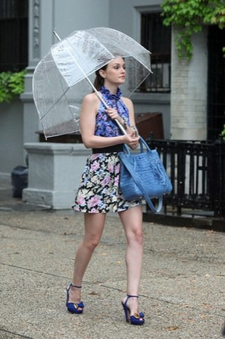 Leighton Meester paraguas