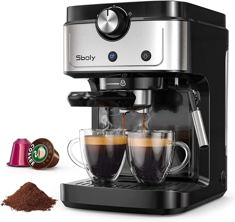 Cafetera Espresso Sboly 2 en 1