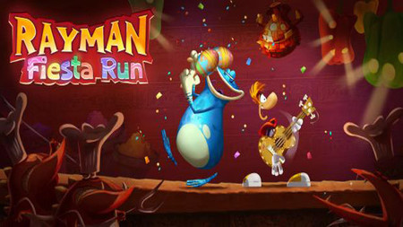 Rayman Fiesta Run ya disponible en Google Play