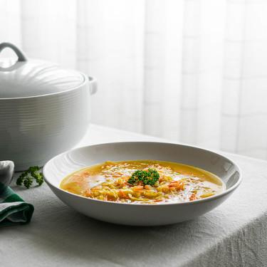 Cómo hacer sopa juliana, receta tradicional fácil, rápida y saludable (que además es vegana)